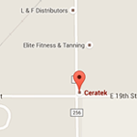 Ceratek Footer Map